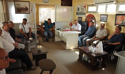 MHP'den CHP'ye , geçmiş olsun ziyareti