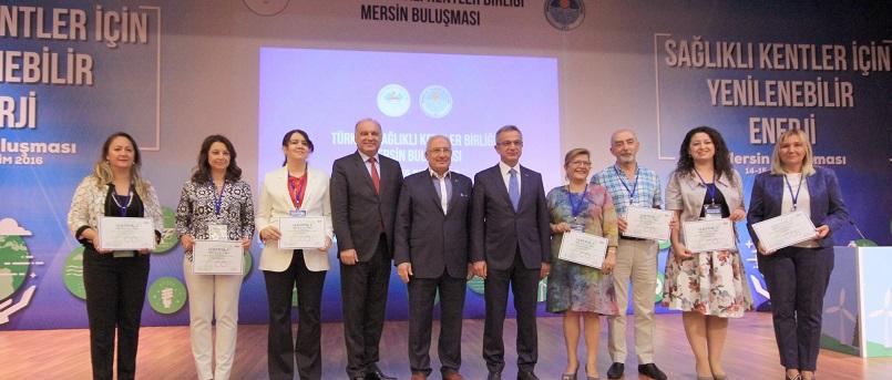 Büyükşehir Belediyesi Sağlıklı Kentler Birliği Buluşmasına Katıldı