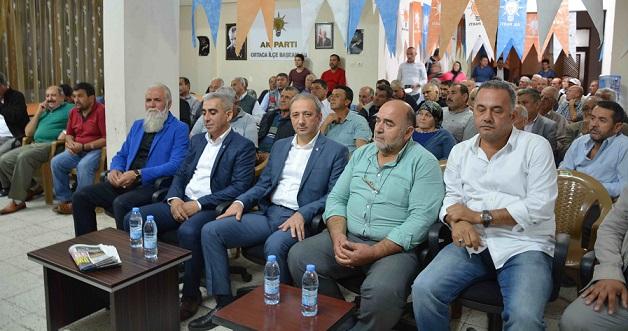 AK Parti Ortaca Danışma Toplantısı yapıldı