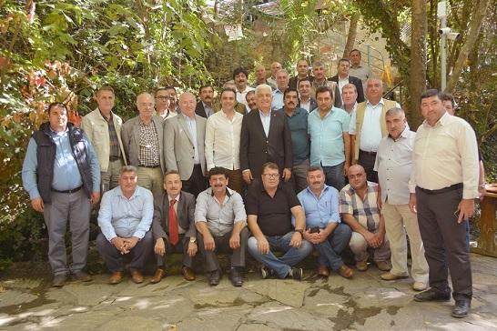 Başkan Gürün Köyceğiz Muhtarları ile Bir Araya Geldi