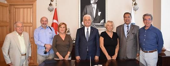 Mülkiyeliler'den Başkan Gürün'e Ziyaret