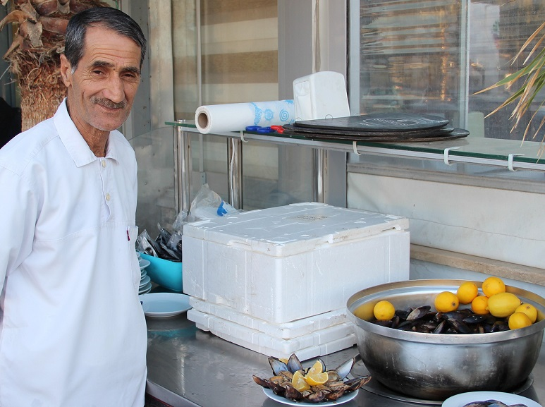 Türkiye'nin ilk Midye Restorandı ilgi görüyor