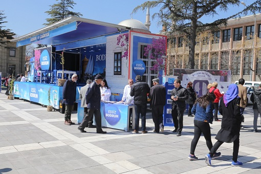 Bodrum Tırına Anadolu'da büyük ilgi