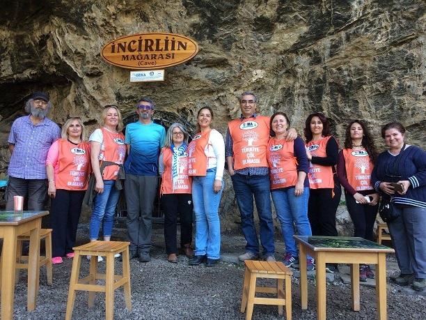 TEMA gönüllüleri Gökçeler Kanyonunu gezdi