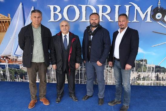 TÜRSAB yöneticileri Bodrum Tırını ziyaret etti