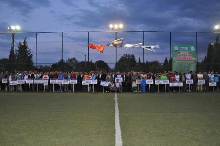 Yatağan'da futbol şöleni başladı