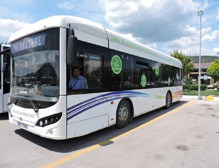 Elektrikli Otobüsler test ediliyor