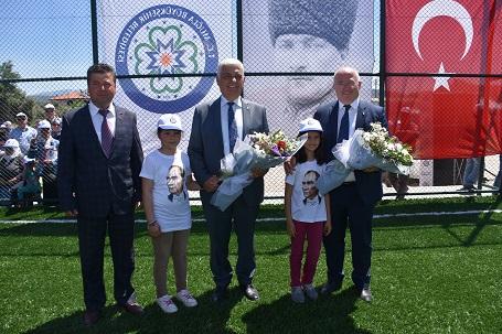 Büyükyşehir'in spora yatırımları sürüyor