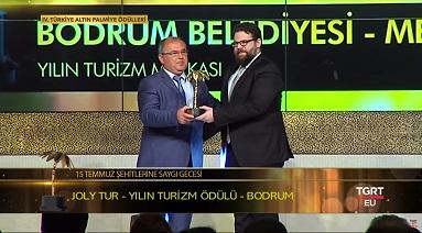 Bodrum'a Turizm Markası Ödülü