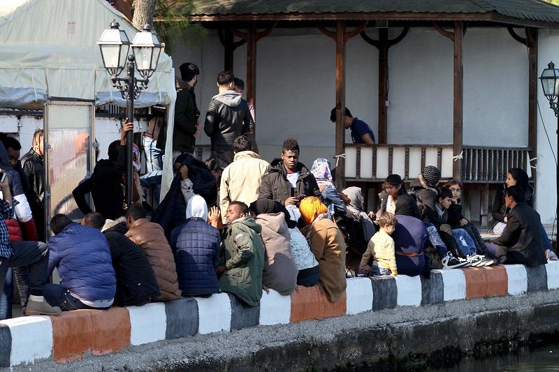 141 kaçak göçmen yakalandı