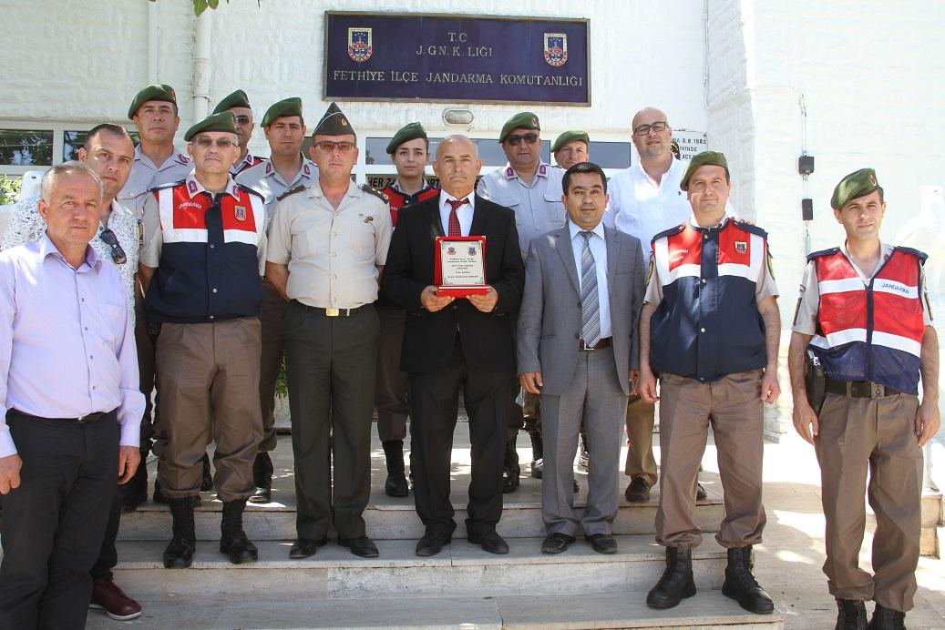 Jandarma'dan Yılın Şoförüne ödül