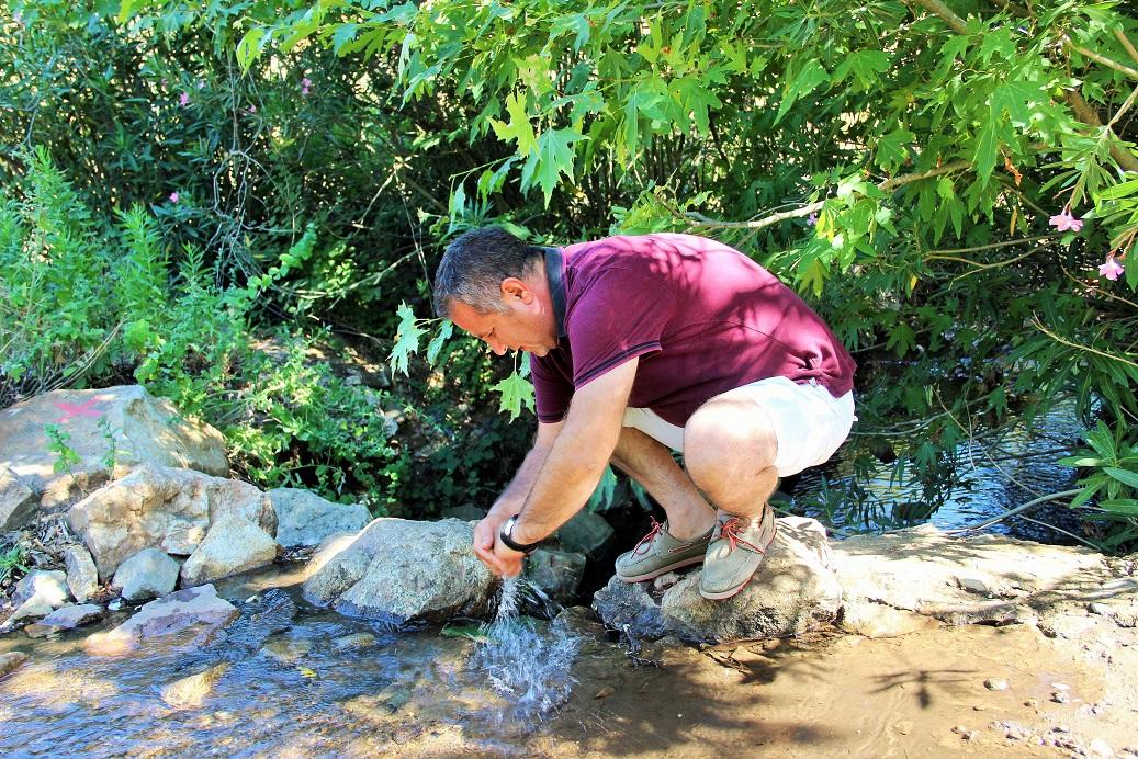 Derede 100 yıl sonra su akmaya başladı