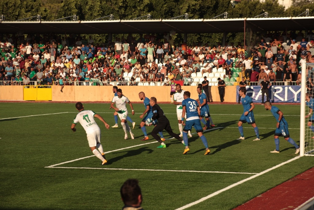 Bodrumspor, ilk maçında 3 puan aldı