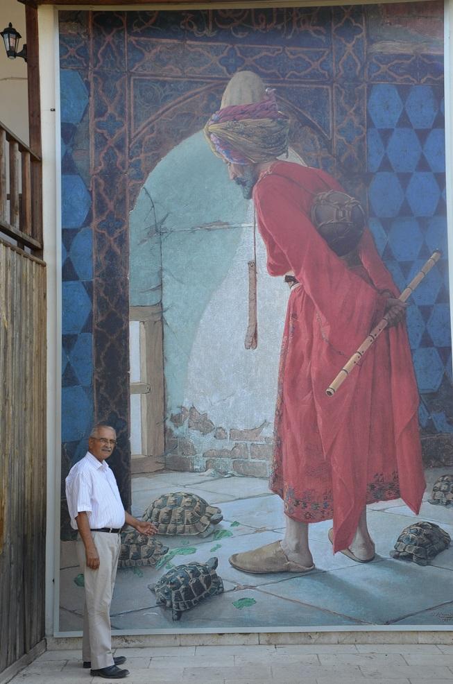 Demir, Türk Müzeciliğinin babasının evini inceledi