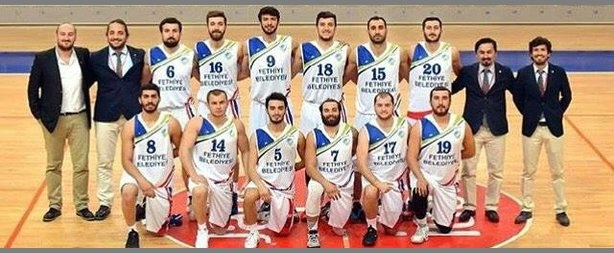 Fethiye Belediyespor Basketbol Takımı 2.Lig'de