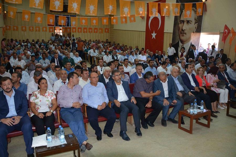 AK Parti Dalaman Kongresi yapıldı