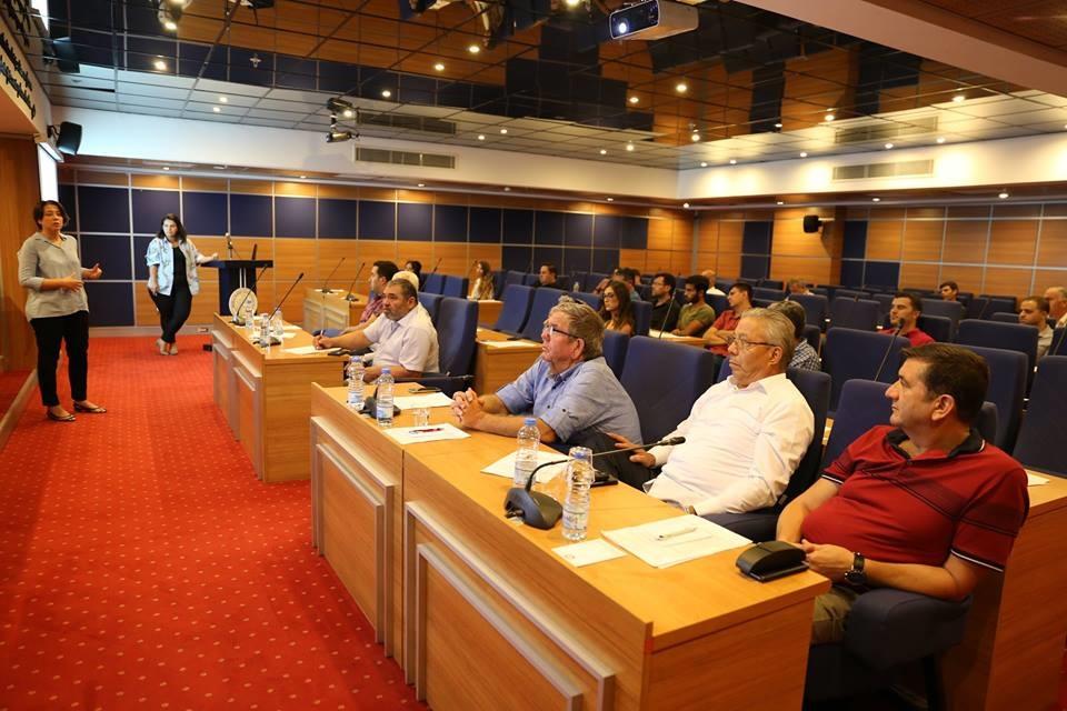 MUTSO üyelerine faaliyetler anlatıldı