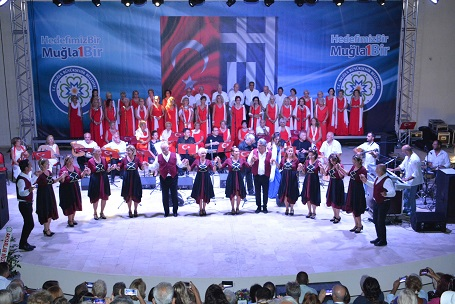 Türk -Yunan Dostluğu için konser