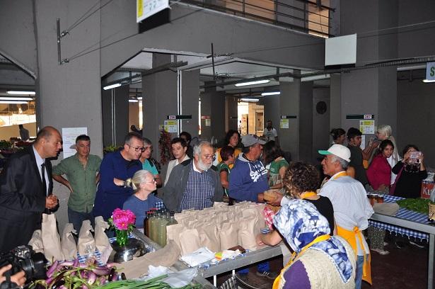 Yerel Tohum, Temiz Gıda Pazarı açıldı