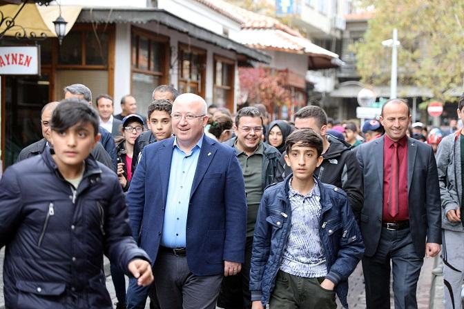 Bingöllü öğrenciler Menteşe'yi gezdi