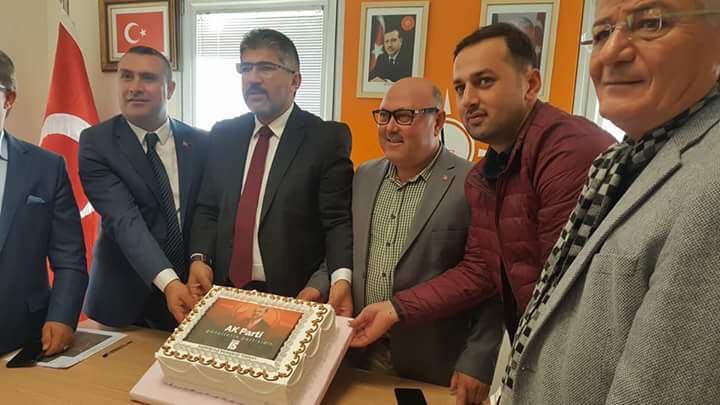 """""""AK Parti büyük bir başarıya imza attı"""""""
