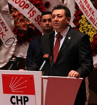 CHP'de Alban tekrar seçildi