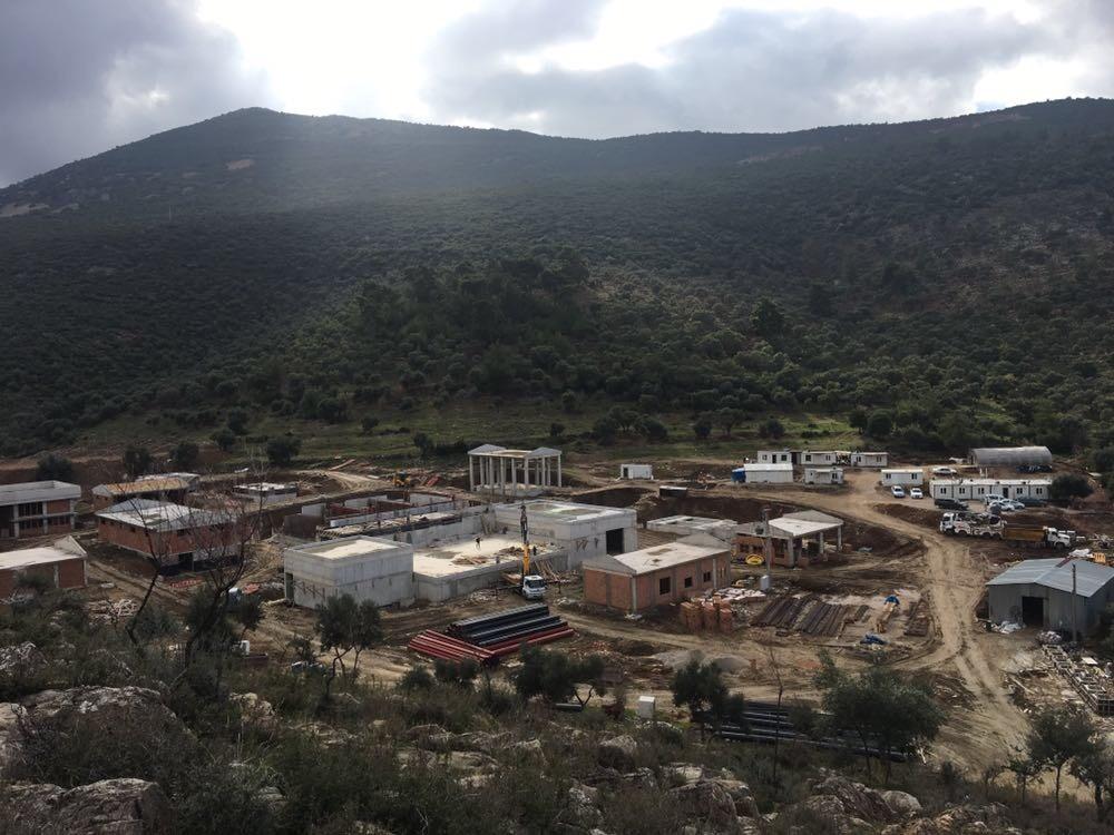 Milas İçmesuyu Arıtma Tesisi inşaatı ilerliyor