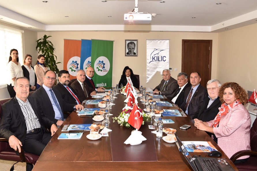 Teknopark yönetimi Milas'ta toplandı