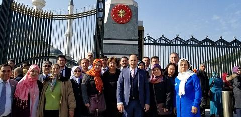 Muğlalı çiftçiler Cumhurbaşkanı Erdoğan ile buluştu