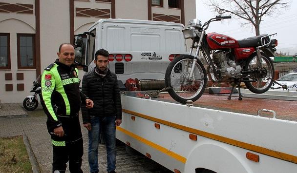 Trafikte tehlikeli yolculuğa 4 bin lira ceza