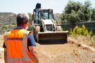 Karaova Mahallelerinde yol çalışmaları başladı