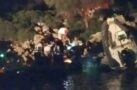Göcek'te lastik bot kayalıklara çarptı: 2 yaralı