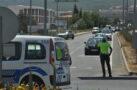 Menteşe'de trafik yoğunluğu sürüyor