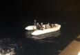 Muğla'da Türk kara sularına itilen yabancı uyruklu 6 kişi kurtarıldı