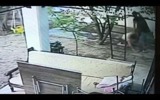 Muğla'da kadının darbedilmesi güvenlik kamerasına yansıdı