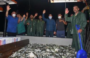 Muğla'da termal drone ile kaçak balık avı denetimi