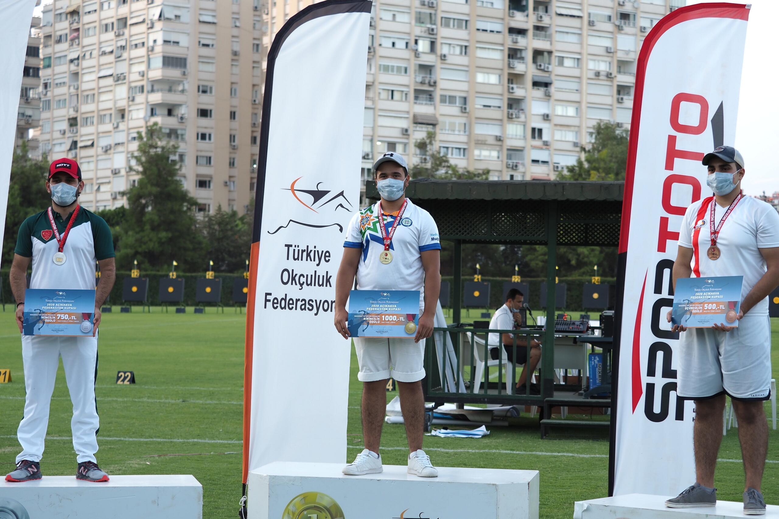 Yatağanlı Okçu Türkiye Şampiyonu oldu