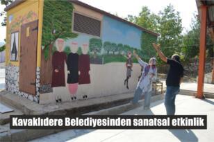 Kavaklıdere Belediyesinden sanatsal etkinlik