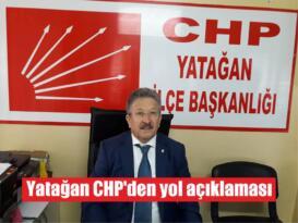 Yatağan CHP'den yol açıklaması