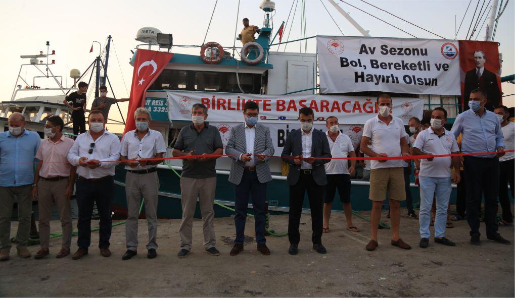 """Muğla'da balıkçılar """"vira bismillah"""" dedi"""