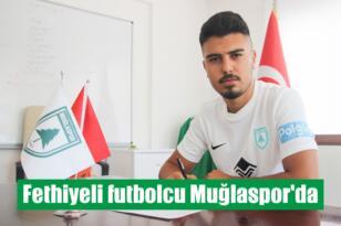 Fethiyeli futbolcu Muğlaspor'da