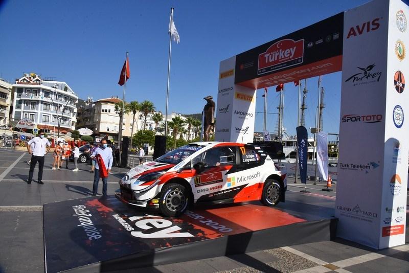 Marmaris'te WRC Türkiye Rallisi heyecanı
