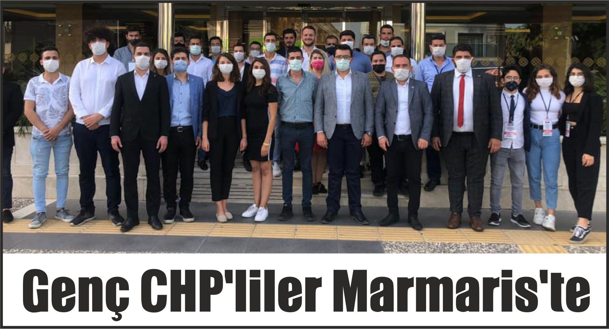 Genç CHP'liler Marmaris'te