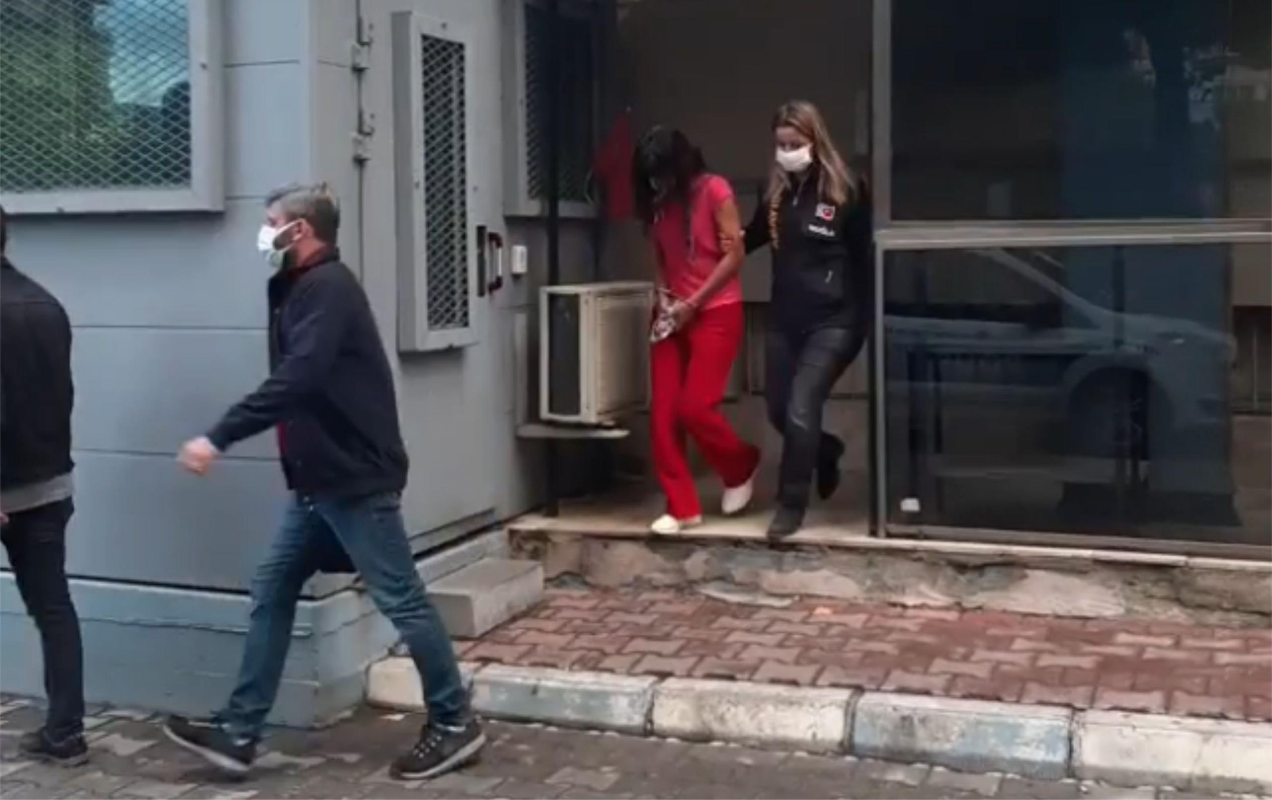 Güvenlik Kamerasıyla Zanlılar Tutuklandı