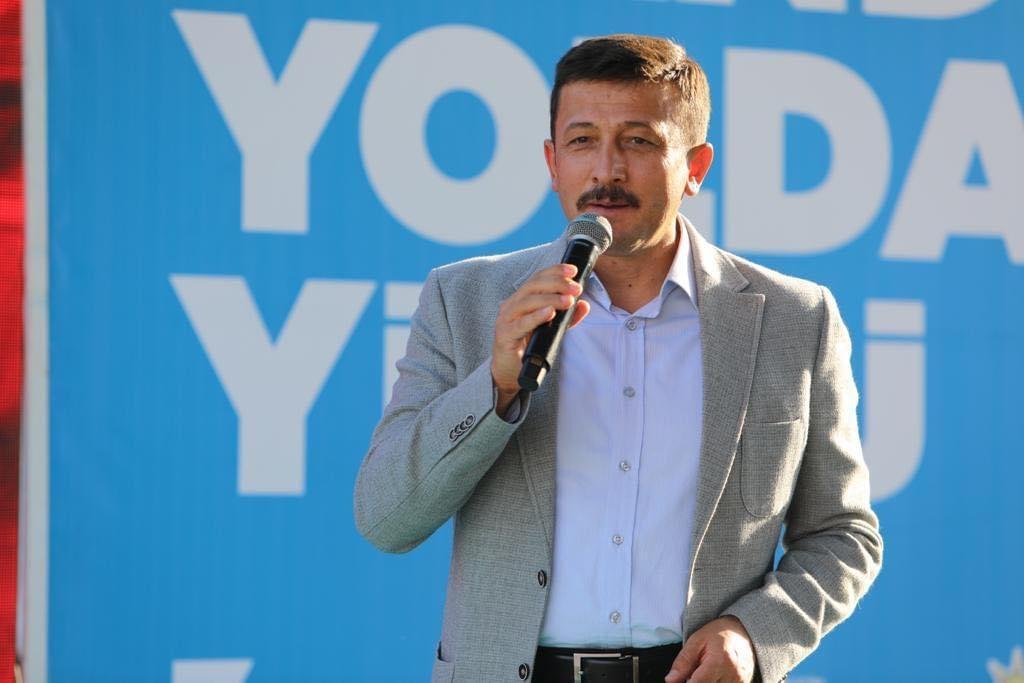 AK Parti Genel Başkan Yardımcısı İzmir Milletvekili Hamza Dağ Duyurdu