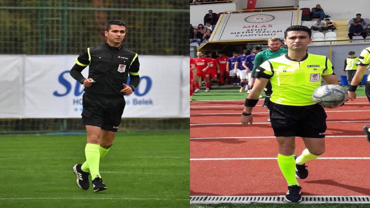 Yatağan'lı hakem Tayfun Sarı 1,2.ve 3. Ligte maç yönetiyor