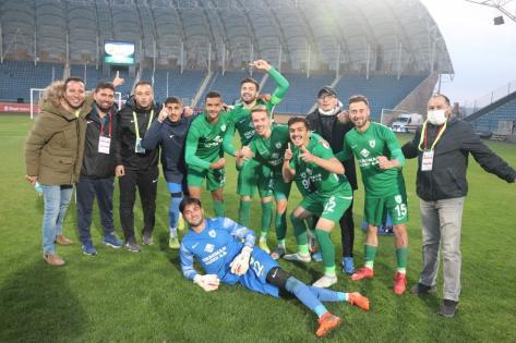 Muğlaspor' da mutluluk