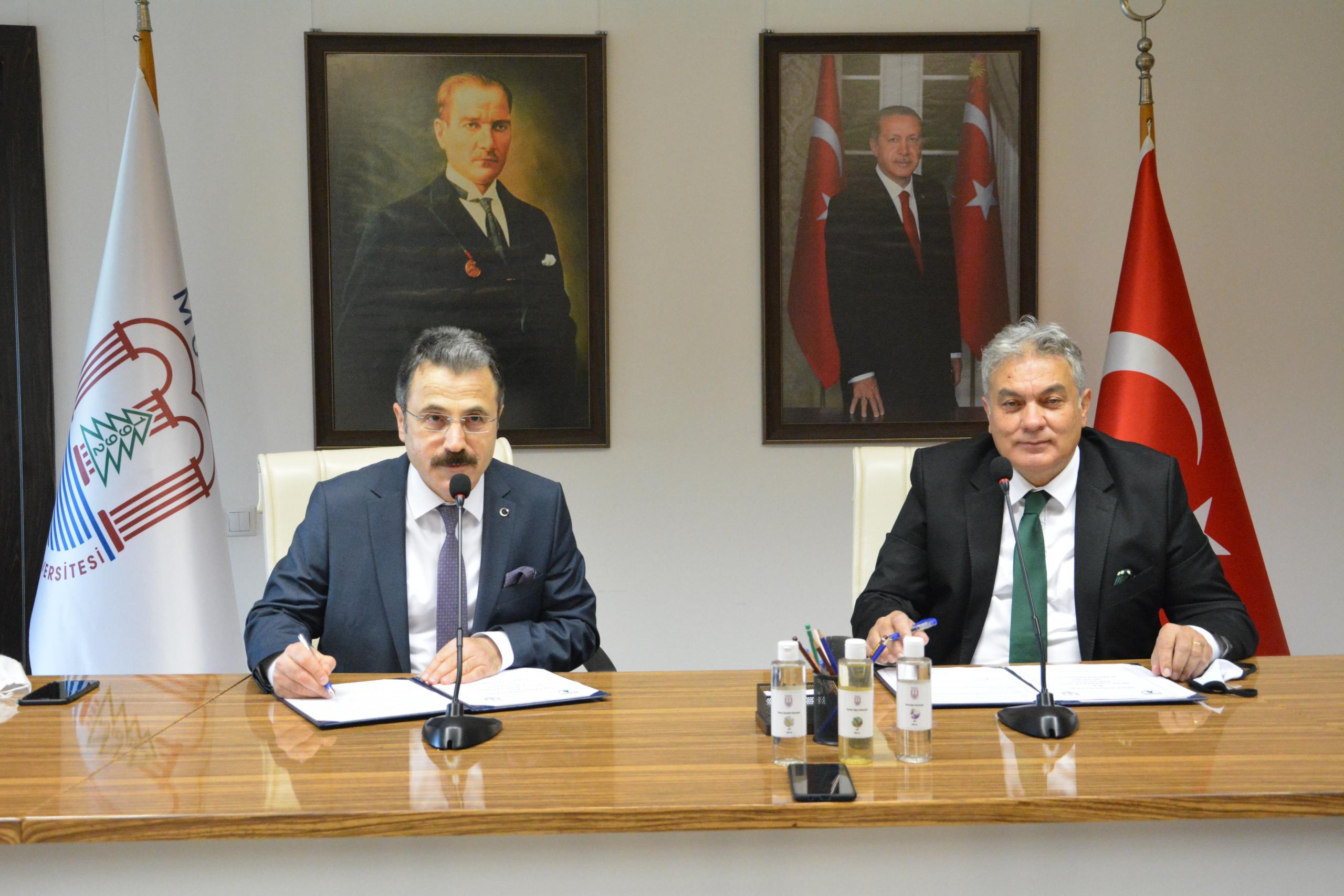 Muğlaspor İle Üniversite Protokol İmzaladı