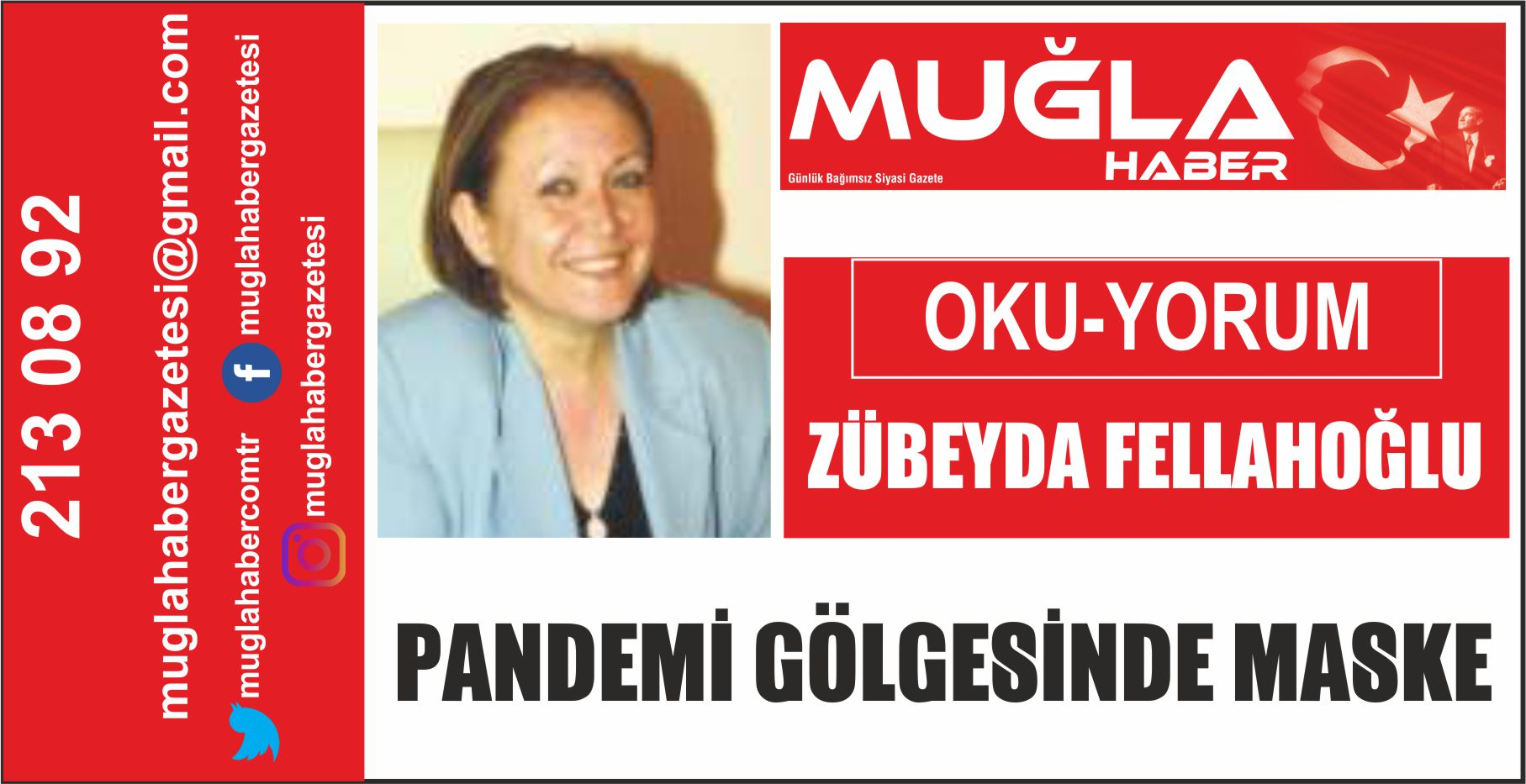 PANDEMİ GÖLGESİNDE MASKE