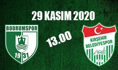 Bodrumspor Kırşehir'de sahaya çıkacak